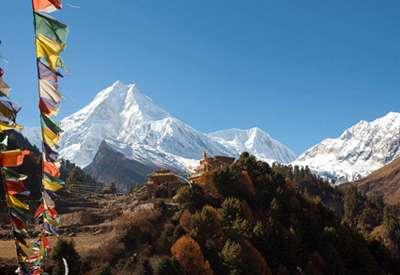 The world's eight highest mountain, Mt. Manasalu
